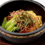 Stone-roasted bibimbap